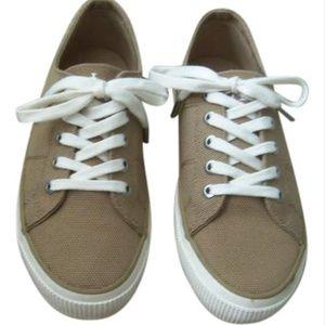 Ralph Lauren Khaki Jolie Sneakers